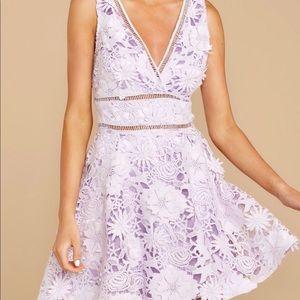 light purple flower dress 👗 💐